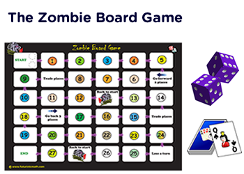 Social studies board games pdf printables with template for Table zombies pdf